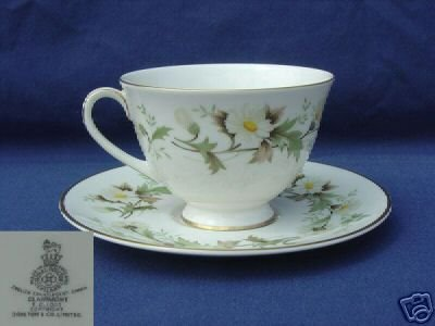 Royal Doulton Clairmont 2 Cup and Saucer Sets MINT