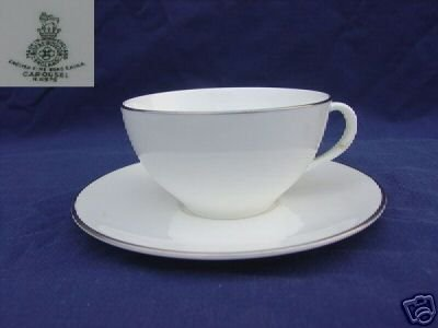 Royal Doulton Carousel 6 Cup and Saucer Set - MINT