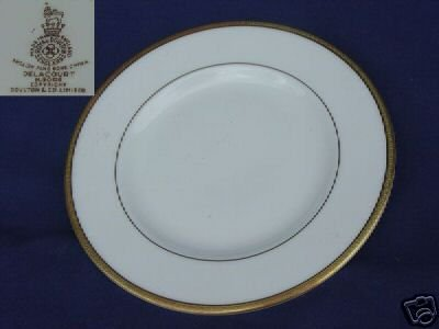 Royal Doulton Delacourt 4 Bread and Butter Plates MINT