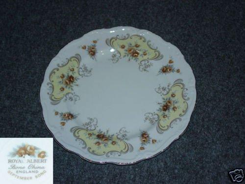 Royal Albert September Song 1 Salad Plate