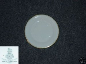 Royal Doulton Gold Concord 3 Bread Plates