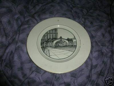 Pennsylvania Railroad Station and Rotunda Plate