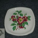 Paden City Rosewood 4 Square Plates
