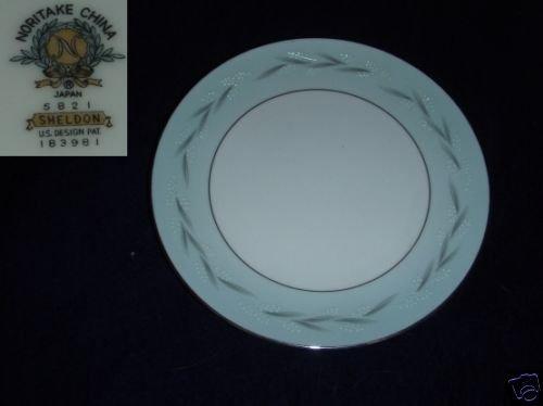 Noritake Sheldon 4 Salad Plates