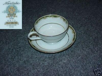 Noritake Warrington 2 Cup and Saucer Sets