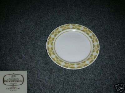 Noritake Sunglow 7 Bread and Butter Plates
