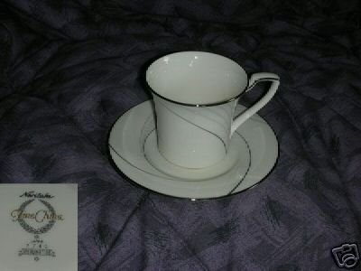 Noritake Sterling Tide 2 Cup and Saucer Sets