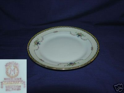 Noritake Rosemary Pattern 2 Bread and Butter Plates