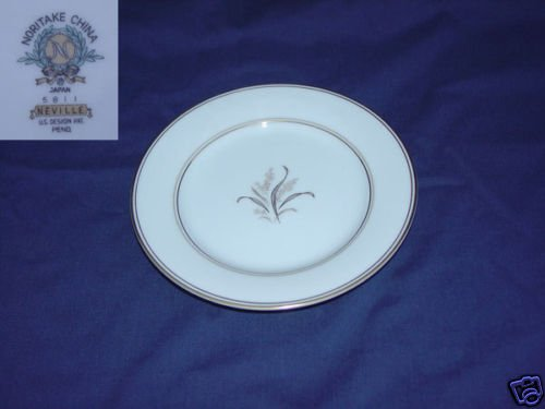Noritake Neville 2 Bread and Butter Plates - MINT