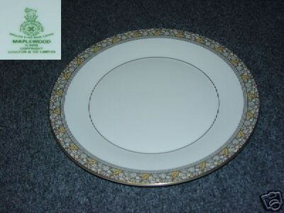 Royal Doulton Maplewood 1 Dinner Plate - MINT