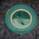 Wedgwood Avon 1976 Christmas Plate
