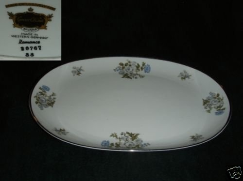 Grace China Romance 1 Oval Serving Platter - 15""