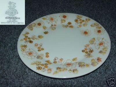 Royal Doulton Sundance 4 Salad Plates - MINT