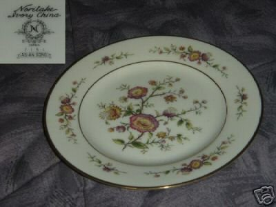 Noritake Asian Song 5 Bread and Butter Plates