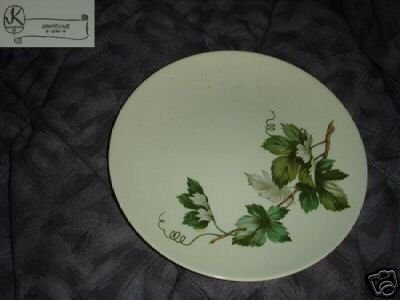 Edwin Knowles Grapevine 4 Dinner Plates