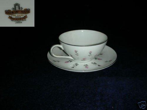 Harmony House / Sears Rosebud 3 Cup an Saucer Sets