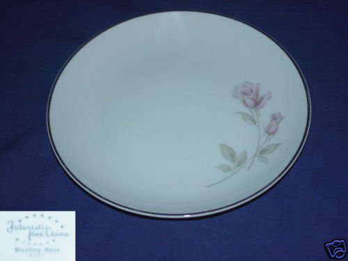 Fine China of Japan Blushing Rose 7 Bread Butter Plates