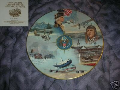 1977 Annual United States Historical Plate
