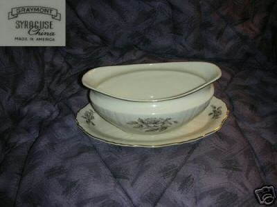 Syracuse Graymont Gravy Boat with Attached Underplate