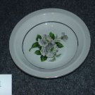 Japan China White Rose ( Platinum ) 4 Soup Bowls