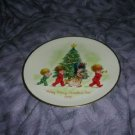 Gorham 1973 Happy Merry Christmas Tree Plate