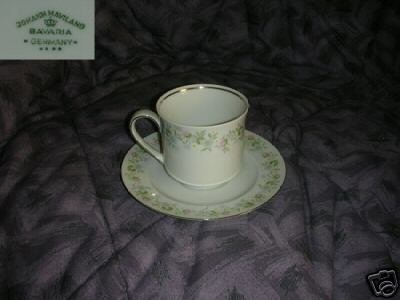 Johann Haviland Forever Spring 4 Cup and Saucer Sets
