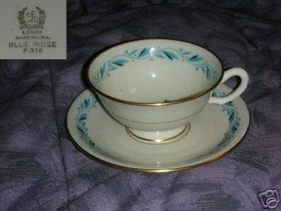 Lenox Blue Ridge 2 Cup and Saucer Sets