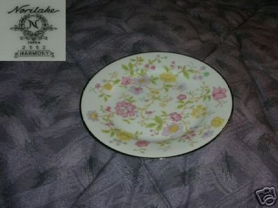 Noritake Harmony 6 Bread and Butter Plates