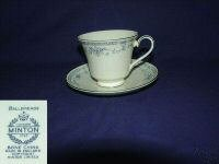 Minton Bellemeade 3 Cup and Saucer Sets - MINT