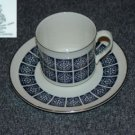 Royal Doulton Medallion 1 Cup and Saucer Set - MINT