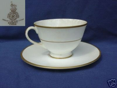 Royal Doulton Regent 1 Cup and Saucer Set  MINT