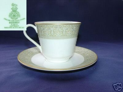 Royal Doulton Sonnet 2 Cup and Saucer Sets - MINT