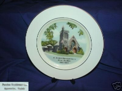St. Stephen's Episcopal Church Olean, New York Plate