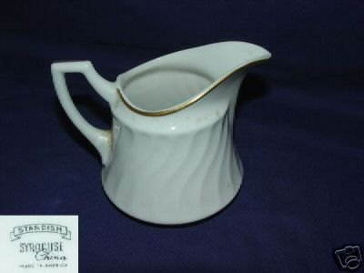 Syracuse Standish Cream Pitcher ( Creamer )