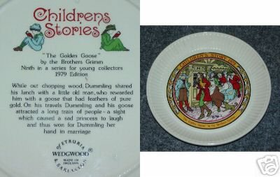 Wedgwood Children's Stories 1979 Plate