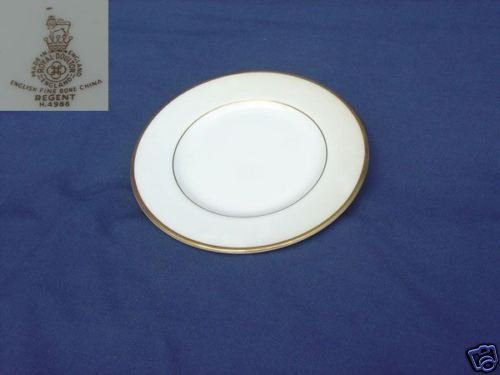 Royal Doulton Regent 4 Bread and Butter Plates MINT