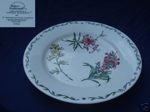 International Tableworks Terrace Blossoms 1 Chop Plate