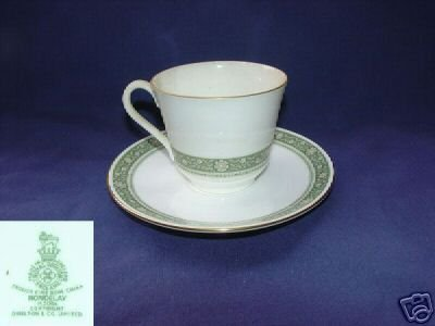 Royal Doulton Rondelay 3 Cup and Saucer Sets MINT