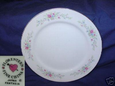 Florenteen Fantasia Pattern 4 Dinner Plates
