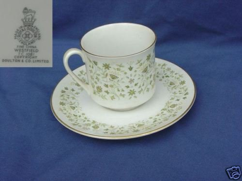 Royal Doulton Westfield 2 Cup and Saucer Sets  MINT