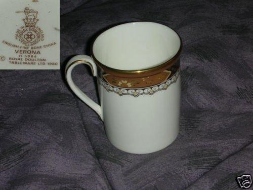 Royal Doulton Verona 4 Demitasse Cups ( ONLY )