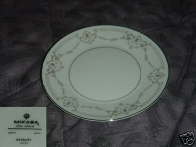 Mikasa Revelry 3 Bread and Butter Plates