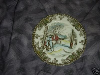 Johnson Brothers The Friendly Village 2 Bread Plates