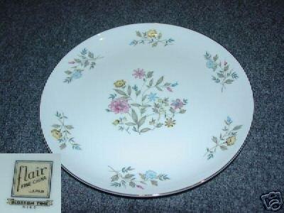 Flair Fine China Blossom Time 4 Dinner Plates
