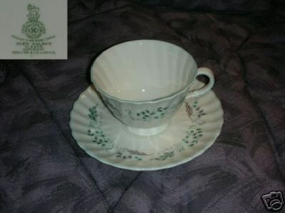 Royal Doulton Glen 4 Auldyn Cup and Saucer Sets