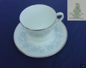 Royal Doulton Meadow Mist 3 Cup and Saucer Sets - MINT