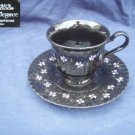 Mikasa Nightshades 2 Cup and Saucer Sets