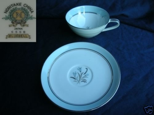 Noritake Bluebell 6 Cups and Saucer Sets