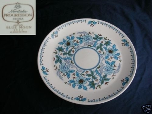 Noritake Blue Moon 4 Dinner Plates