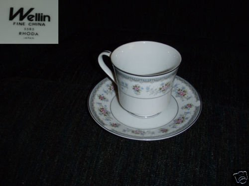 Wellin Rhoda 4 Cup and Saucer Sets